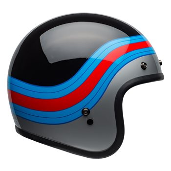 fdce2598 Bell Custom 500 DLX Pulse Helmet (Black|Blue|Red) | The Visor Shop.com