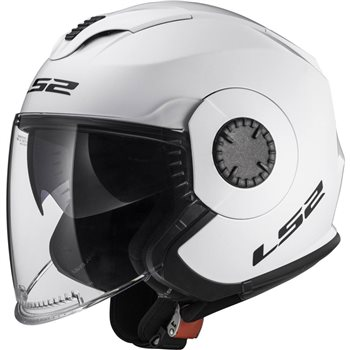 LS2 OF570 Verso Open Face Helmet (White)   - Click to view larger image