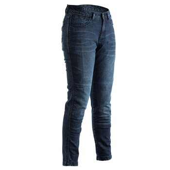 RST Womens Aramid CE Short Leg Jean 2288 (Blue)  - Click to view larger image