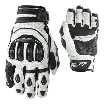 Tractech Evo Short CE Gloves 2137 (Black|White) - (07) XSmall