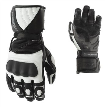 RST GT CE Ladies Motorcycle Glove 2175 (Black|White)  - Click to view larger image
