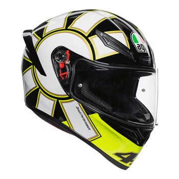 859c996b AGV K1 Gothic 46 Motorcycle Helmet (Black) | The Visor Shop.com