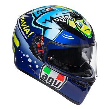 AGV K3 SV Rossi Misano 2015 Helmet AGV-K-3-SV-Rossi-Misano-2015 - Click to view larger image