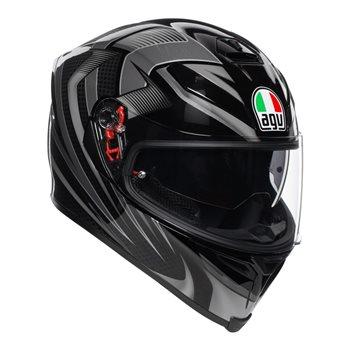 AGV K5-S Hurricane 2.0 Helmet (Black|Silver) AGV K5-S Hurricane 2.0 Helmet Black Silver - Click to view larger image
