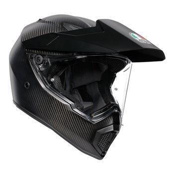 AGV AX9 Adventure Motorcycle Helmet (Matt Carbon) AGV-AX-9-Matt-Carbon - Click to view larger image
