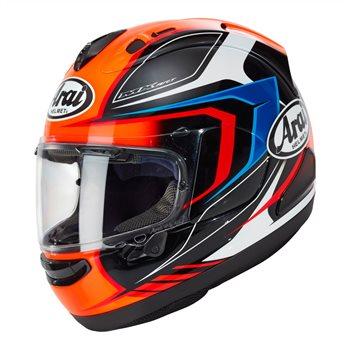 Arai RX-7V Maze Motorcycle Helmet (Red) Arai-RX-7V-Maze-Motorcycle-Helmet-Red - Click to view larger image