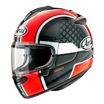 Arai Chaser-X Take Off Motorcycle Helmet (Red) Arai-Chaser-X-Take-Off-Helmet-Red - Click to view larger image