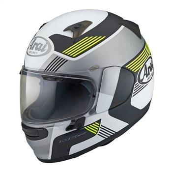 Arai Profile-V Copy Motorcycle Helmet (Flo Yellow) Arai-Profile-V-Copy-Fluorescent-Yellow-Helmet - Click to view larger image