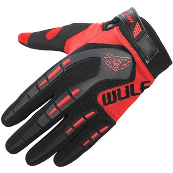 Wulfsport Attack MX Gloves (Red)  - Click to view larger image