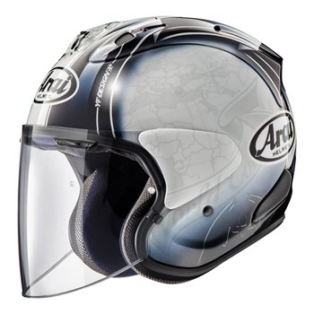 Vas White Helmet Face Special Order Open Arai Harada Tour Sz R eIYbE29WDH