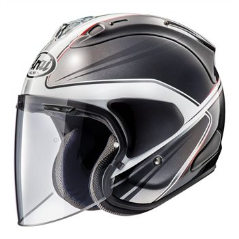Arai SZ-R VAS Wedge White Open Face Helmet - Special Order  - Click to view larger image
