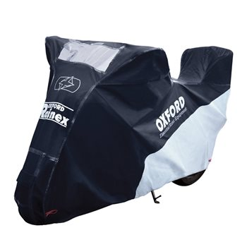 Oxford RAINEX Topbox Deluxe Outdoor Rain & Dust Motorcycle Cover  - Click to view larger image