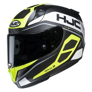 Helmet HJC R-PHA-11 SARAVO BLACK//FLO GREEN L