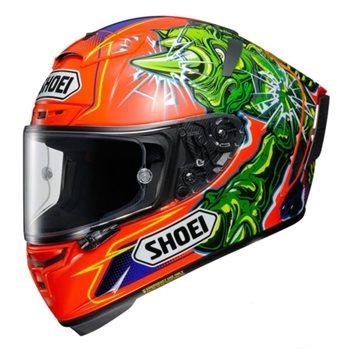 Shoei X-Spirit 3 Power Rush TC-8 Motorcycle Helmet  - Click to view larger image