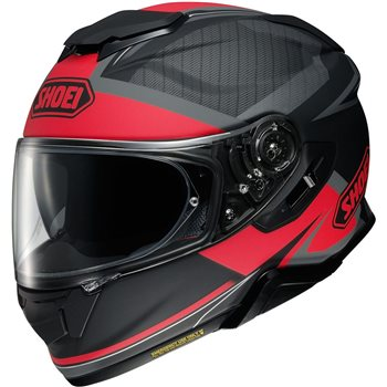 Shoei GT Air 2 Affair TC1 Motorcycle Helmet (Matt Black|Red) Shoei-GT-Air-2-Affair-TC1 - Click to view larger image