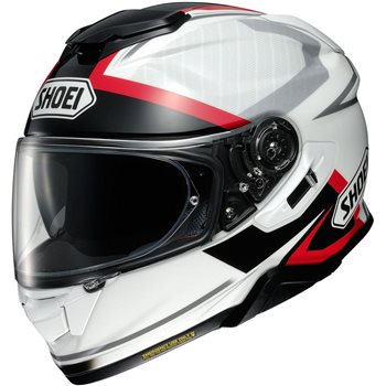 Shoei GT Air 2 Affair TC6 Motorcycle Helmet (White|Black|Red) Shoei-GT-Air-2-Affair-TC6 - Click to view larger image