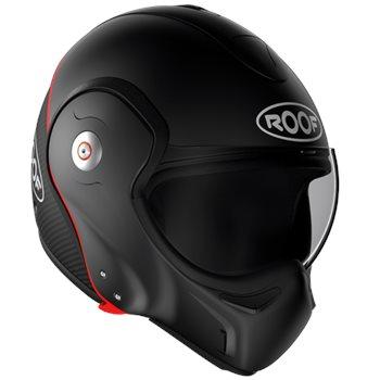 Roof Boxxer Carbon Flip Front Helmet (Matt Black)  - Click to view larger image