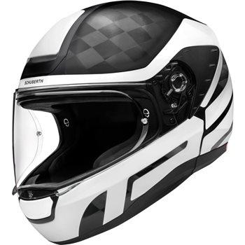 schuberth r2 carbon cubature white helmet black white. Black Bedroom Furniture Sets. Home Design Ideas