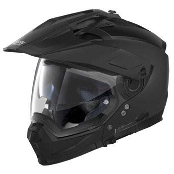 Nolan N70-2X Classic N-Com Helmet (Flat Black) Nolan-N70-2X-Classic-N-Com-Helmet-Flat-Black - Click to view larger image