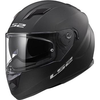 LS2 Stream FF320 Evo Helmet (Matt Black)   - Click to view larger image