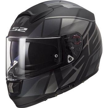 LS2 FF397 Vector Evo FT2 Kripton Helmet (Matt Black Titanium) LS2-FF397-Vector-Evo-FT2-Kripton-Helmet-Matt-Black-Titanium - Click to view larger image