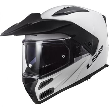 LS2 FF324 Metro Evo Helmet (White)  - Click to view larger image