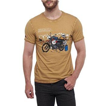"White Steve Hislop /""HIZZY/"" Motorycle Legend T-Shirt"