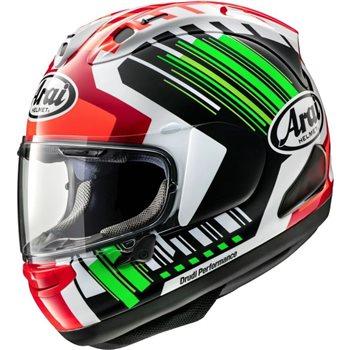 Arai RX-7V Rea Green Motorcycle Helmet  Arai-RX-7V-Rea-Green-Helmet - Click to view larger image
