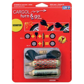 Cargol Turn & Go Puncture Repair Kit 2  - Click to view larger image
