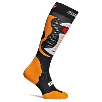 Sidi  Socks Faenza (Flo Orange|Black)  - Click to view larger image