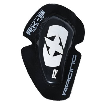 Oxford RK-S Knee Sliders (Black|White)  - Click to view larger image