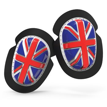 Oxford Union Jack Knee Sliders  - Click to view larger image