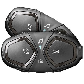 Interphone Bluetooth Headset Active Helmet Intercom (Twin Pack)  - Click to view larger image