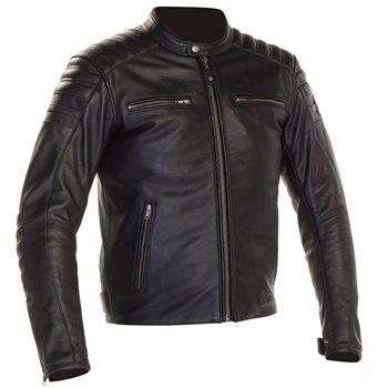 Richa Daytona 2 Leather Jacket (Black)  - Click to view larger image