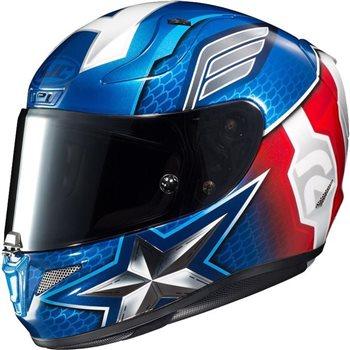 HJC RPHA 11 Captain America Marvel Helmet HJC-RPHA-11-Captain-America-Marvel-Helmet - Click to view larger image