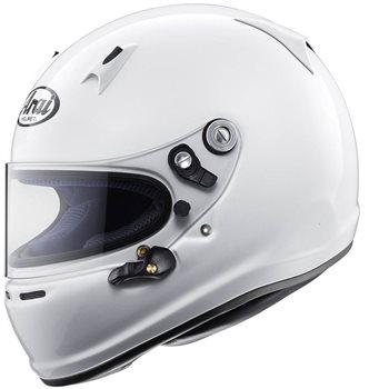 Arai SK-6 Kart Racing Helmet (Without Anchors) Arai-SK-6-Helmet - Click to view larger image