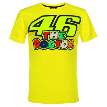 ccc9f6937603 VR46 The Doctor T-Shirt - Click to view larger image