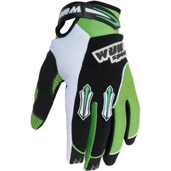 Wulfsport Stratos MX Gloves (Green)  - Click to view larger image