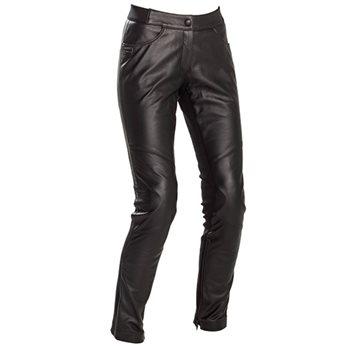 Richa Nikki Trousers Ladies Black Leather Motorcycle Jeans New RRP £249.99!!