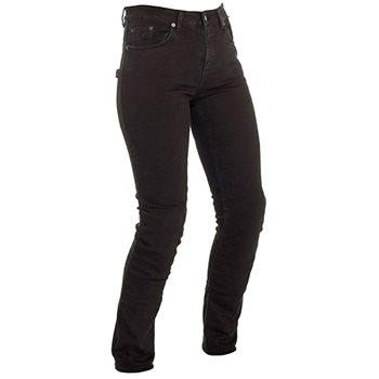 Richa Nora Ladies Aramid Denim Slim Fit Jean (Black)  - Click to view larger image