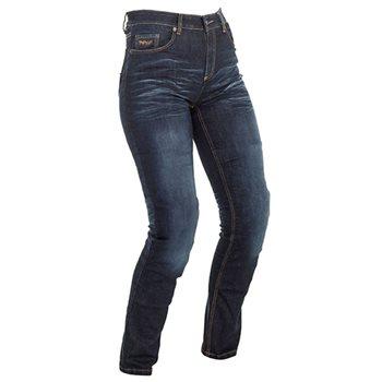 Richa Nora Ladies Aramid Denim Slim Fit Jean (Navy Blue)  - Click to view larger image