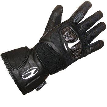 Richa Carbon Black Moto Motorcycle Motorbike Winter Touring GlovesAll Sizes