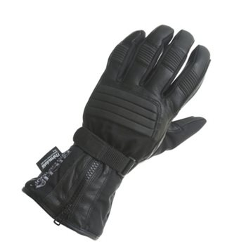 Richa 9904 Ladies Motorcycle Gloves (Black)  - Click to view larger image