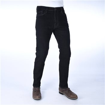 Oxford Original CE Armourlite Denim Slim Jean (Black) Short Leg  - Click to view larger image