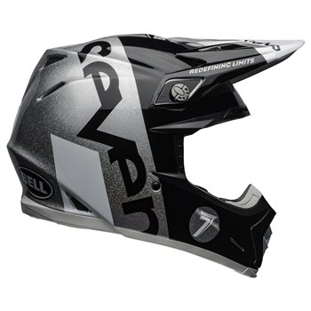 Bell Moto-9 Flex Seven Galaxy Helmet (Black|Silver) Moto-9-Flex-Seven-Galaxy-Helmet-Black-Silver - Click to view larger image