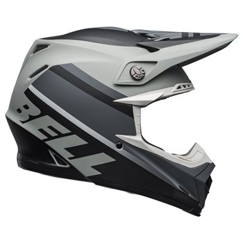 Bell Moto-9 MIPS Prophecy Helmet (Grey|Black|White) Moto-9-Mips-Prophecy-Helmet-Grey-Black-White - Click to view larger image
