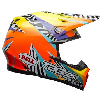 Bell Moto-9 MIPS Tagger Brakout Helmet (Orange|Yellow) Moto-9-Mips-Tagger-Breakout-Helmet-Orange-Yellow - Click to view larger image