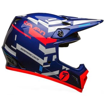 Bell MX-9 MIPS Seven Equalizer Helmet (Blue|Pink|White) Bell-MX-9-MIPS-Seven-Equalizer-Helmet-Blue-Pink-White - Click to view larger image