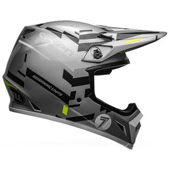 Bell MX-9 MIPS Seven Equalizer Helmet (Grey|Black|Hi-Viz) Bell-MX-9-MIPS-Seven-Equalizer-Helmet-Grey-Black-Hi-Viz - Click to view larger image