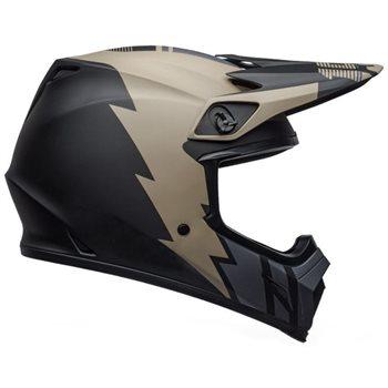 Bell MX-9 MIPS Strike Helmet (Khaki|Black) Bell-MX-9-MIPS-Strike-Helmet-Khaki-Black - Click to view larger image